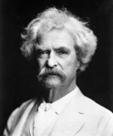 "Mark Twain on the Arkansas delta: ""All the streets and lanes was just mud; they warn't nothing else BUT mud - mud as black as tar and nigh about a foot deep in some places, and two or three inches deep in ALL the places."" (From Huckleberry Finn)"