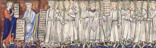 White-robed martyrs