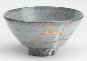 "Kintsugi translates as ""gold joinery."""