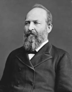 James A. Garfield, arguably our most intelligent chief executive after Jefferson