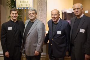 Deans Pittman McGehee, Walter Taylor, Joe Reynolds, and me