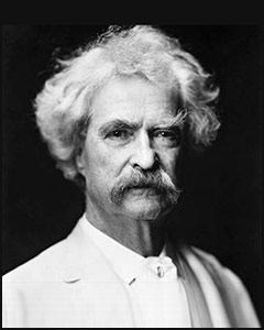 """It is better to keep your mouth closed and let people think you are a fool than to open it and remove all doubt."" Mark Twain"