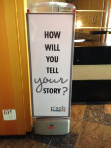 How will you tell your story