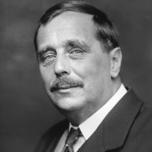H.G. Wells, atheist who wrote eloquently of God.
