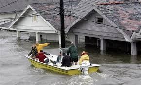 Hurricane Katrina boat