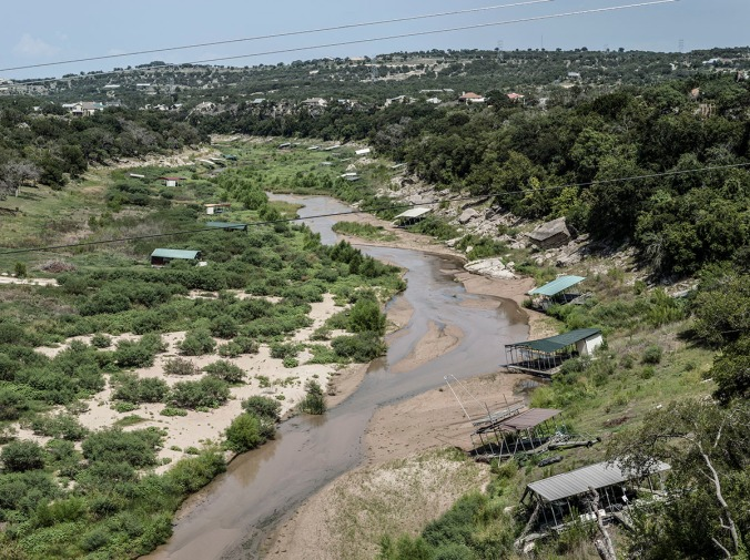 Since the drought of 2011, Texas rivers are drying up.
