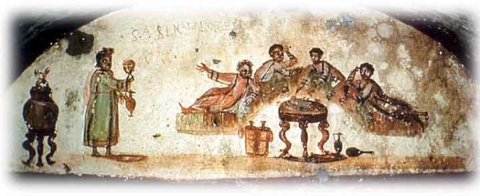 The Christians in Corinth fight and backbite. They get drunk on Communion wine.