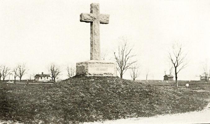Hart Island Cross