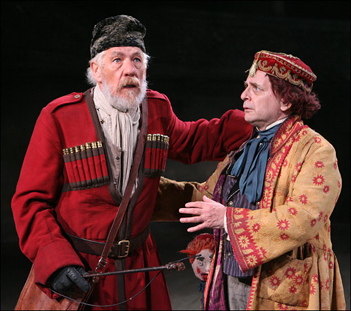 King Lear and the Fool  (Ian McKellen playing Lear)