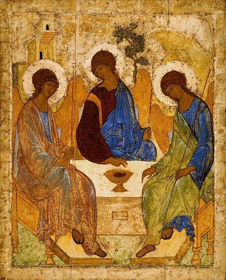 Andrei Rublev's Trinity Icon