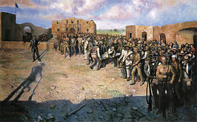 Like William Barrett Travis' line in the sand at the Alamo, everybody had to stand on one side or the other.