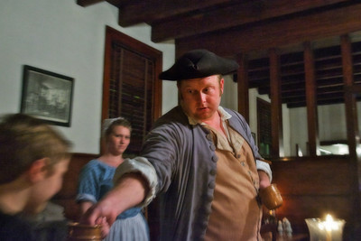 Colonial Williamsburg magician