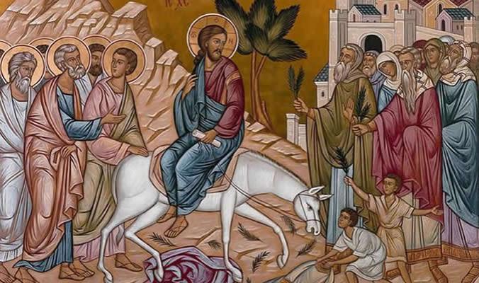 Palm Sunday Triumphal Procession