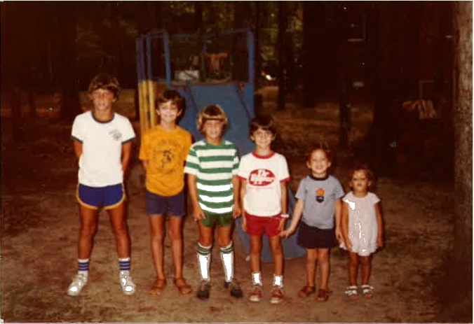 Thompson kids 1979