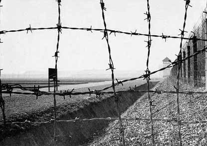 Barbed wire-Dachau