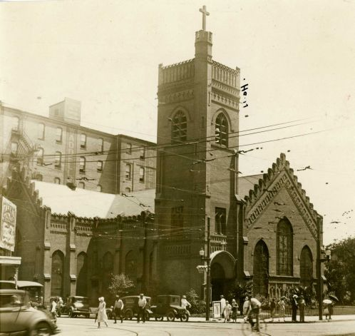 Christ Church Cathedral old photo (1936)