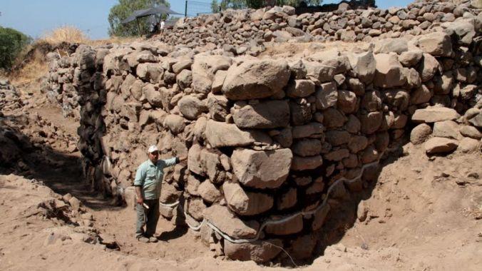 Bethsaida walls