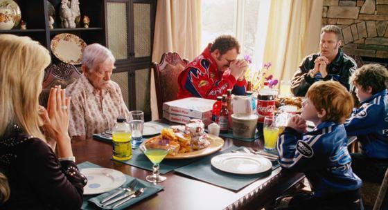 Ricky Bobby dinner scene
