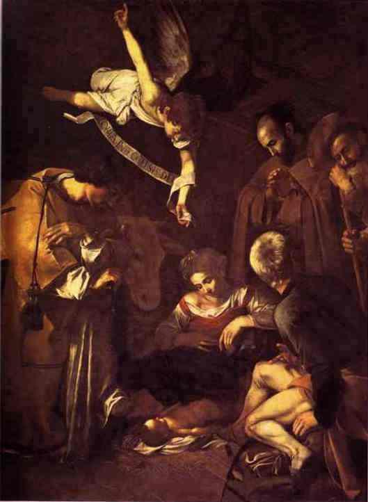 nativity-caravaggio