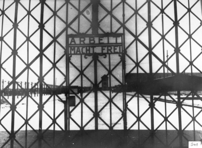 Dachau entrance gate