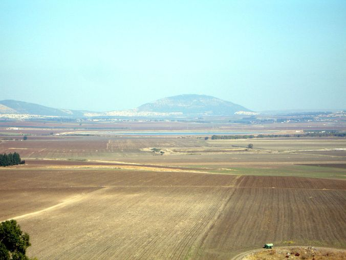 Mount Tabor from Megiddo