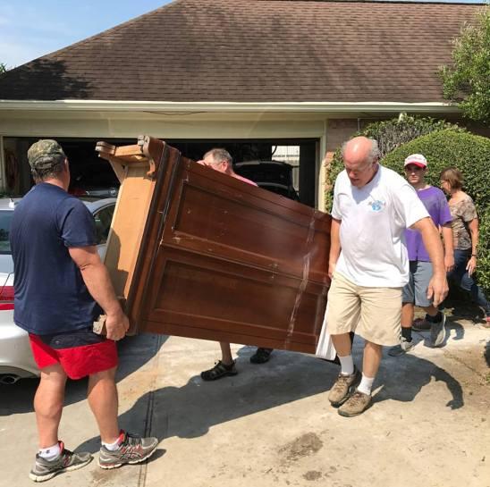 Hurricane Harvey work crew