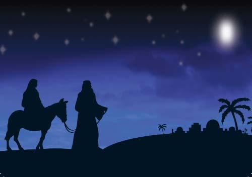 holy family to bethlehem