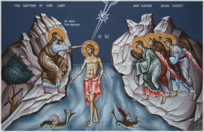 Baptism of Our Lord icon