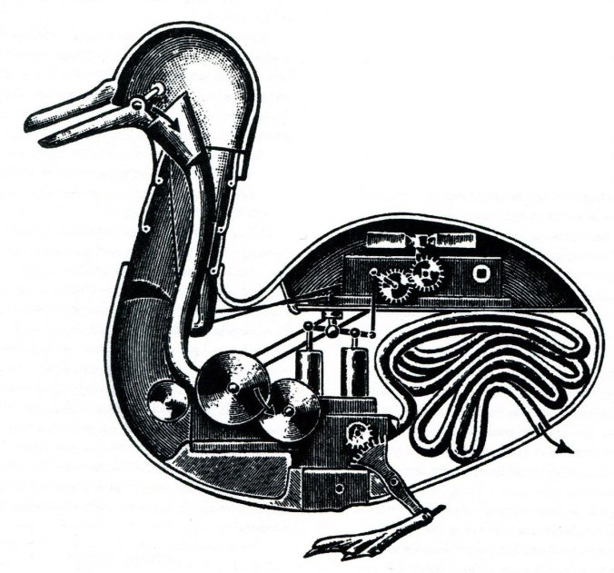 mechanical duck