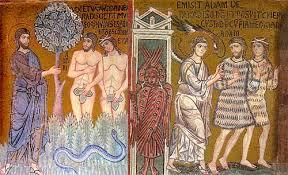 Adam and Eve mosaic