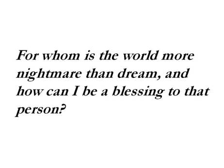 To be a blessing sermon quote